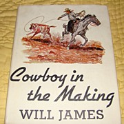 SALE �Cowboy in the Making� - First Edition, First Printing by Will Parks
