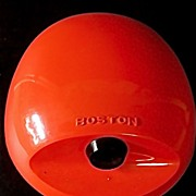 Retro Boston Pencil Sharpener Mod Space Age Egg Design-Orange