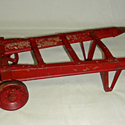 American Pulley Company Salesman�s Sample Hand Truck or Dolly, Early 20th century