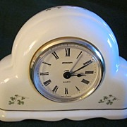 Irish Galway Royal Tara Porcelain Clock German Staiger Works