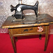 Singer Sewing Machine Bank German 1925 Scarce