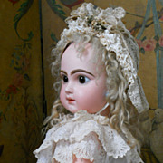 SALE PENDING ~~~ On HOLD for S. / Wonderful French Bisque BeBe Jumeau  ~~~