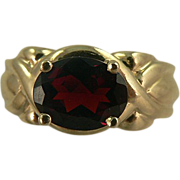 SALE Rich Garnet Ring ~10k ~ Size 6.5.