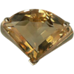 Sensational Citrine 7 CWT Solitaire Ring~14k~Size 8.