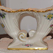 REDUCED Osborne China  Abingdon #482 Double Cornucopia