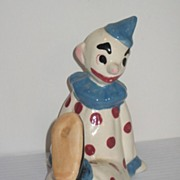 REDUCED Brayton Laguna Pottery Circus Clown from 1948 Circus Set