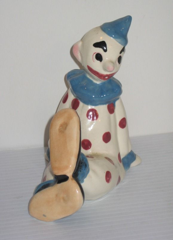 Brayton Laguna Pottery Circus Clown from 1948 Circus Set