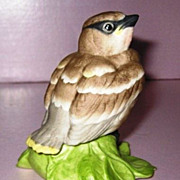 REDUCED Boehm Porcelain Baby Cedar Waxwing #432