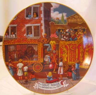 Ringling Bros. and Barnum & Baily Great Parade Circus Plate