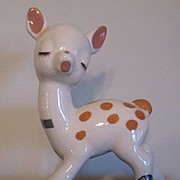 SOLD Freddy Deer deLee Art Pottery California - Red Tag Sale Item