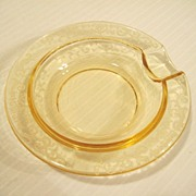 REDUCED Fostoria Topaz Versailles Ashtray