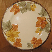 REDUCED Franciscan October Dinner Plate