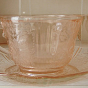 American Sweetheart Cup & Saucer pink
