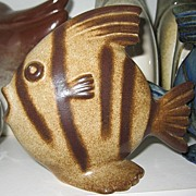 Howard Pierce Porcelain Angel Fish Figurine