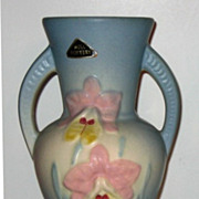 REDUCED Hull Pottery Orchid Vase