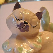 Kay Finch Ceramics Kitten Muff