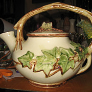 REDUCED McCoy Pottery Ivy Teapot