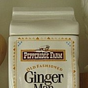 REDUCED Pepperidge Farm Ginger Man Cookie Jar