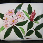 REDUCED Stangl Pottery Rhododendron Box