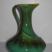 REDUCED Vallona Starr Ceramics California Jade Wine Jug Vase