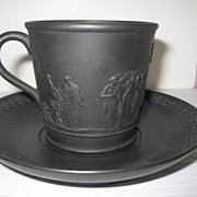 Wedgwood Basalt Cup & Saucer