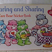 1984 Pizza Hut Caring and Sharing-Care Bears