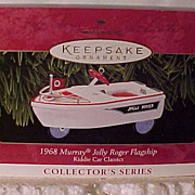 SALE Hallmark Kiddie Car Classic 1968 Murray, Jolly Roger Flagship