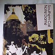 1971 Notre Dame/Southern Cal  Football Program