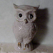 SALE 1930's Owl Razor Blade Bank