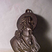 Early 1900's Sacred Heart Bronze
