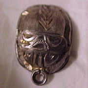 SALE Early Scarab Charm