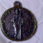SALE PENDING 1930's St. Jude Relic Medal