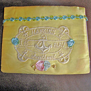 Vintage WW11 Hankie Holder - Hanky Sachet Envelope � Handkerchief Holder From a USA  Navy ...