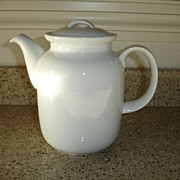 Vintage Rosenthal China  Coffee Pot  -  Germany THOMAS Trend White Pattern