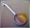 Vintage Porcelain Sauce Spoon - Meito China - Japan
