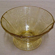 SALE Depression Glass - OLD MADRID  Sherbet Dish or Cup by Federal Glass