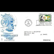 SALE FDC First Day Cover - World Weather Watch - 1968