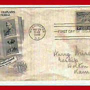 FDC First Day of Issue - Four Chaplins - 1948