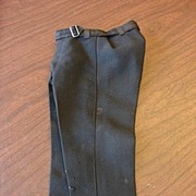 SALE Fabulous Black Antique Doll Trousers~Free US Shipping!