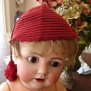 Wonderful Boy's Crocheted Hat w/Tassel and Provenance
