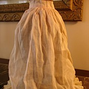 Beautiful Antique China Doll Petticoat Slip~Free US Shipping