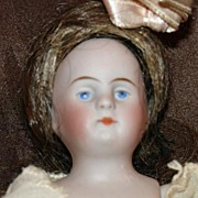 "5.5"" All Bisque Kestner 600~Beautiful Little Girl!"