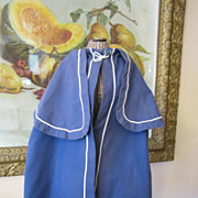 Antique Periwinkle Blue Cape