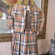 SALE Wonderful 1880's Era Dress and Jacket