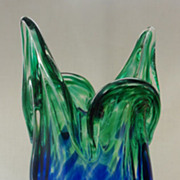 Egermann Contemporary Art Glass Vase from Czech Republic