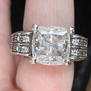 Lovely Older Designer &quot;Victoria Wieck&quot;, Engagement Ring