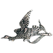 Vintage BIrd in Flight Pin/Brooch
