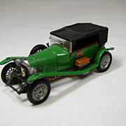 Die-Cast Corgi Classics - Le Mans 1927 Bentley, Made in Great Britain