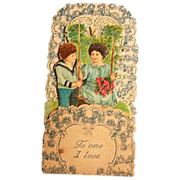 SALE Valentine Card Stand-up German