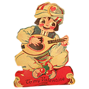 SALE Valentine Card German Movable Stand-up